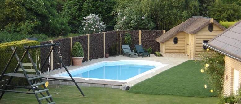 Polystyreen ps zwembad bouwen - Hoe een overdekt terras te bouwen ...