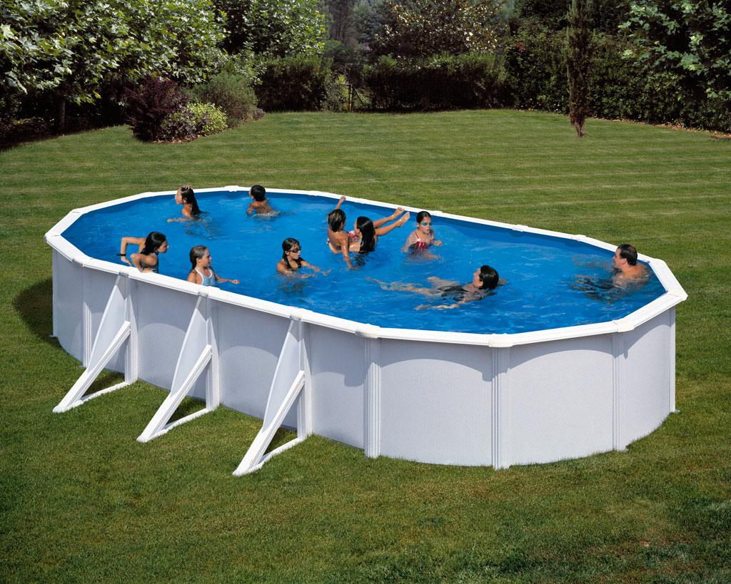 Fidji ovaal gre zwembad 120cm hoogte gre for Zwembad afmetingen