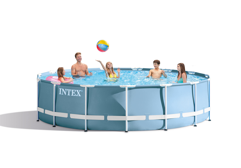 Intex prism frame rond zwembad intex for Intex zwembad verkooppunten