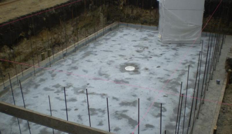 Bodempot zwembad zelfbouw beige kleur for Zwembad leggen