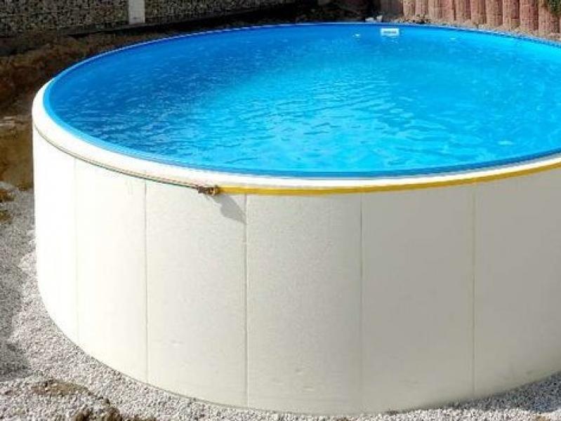 Conzero voor rond zwembad zijwandplaat hobby pool technologies