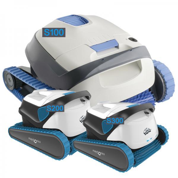 Dolphin S-serie zwembadrobots