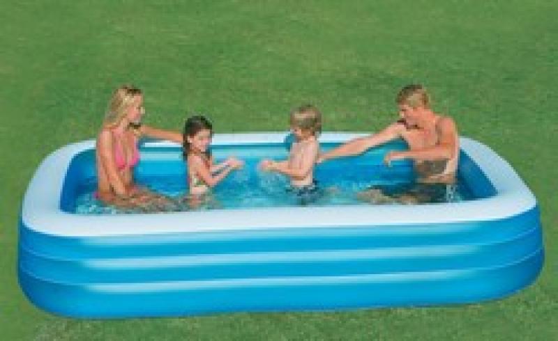 familie opblaasbaar intex zwembad 58484 intex 58484np