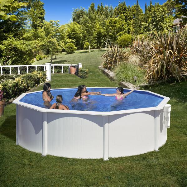 Fidji rond gre zwembad 120cm hoogte gre for Zwembad afmetingen