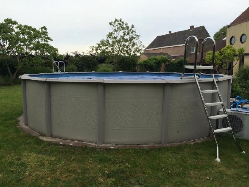 Trapladder inox opzetzwembad astral pool for Opzet zwembad