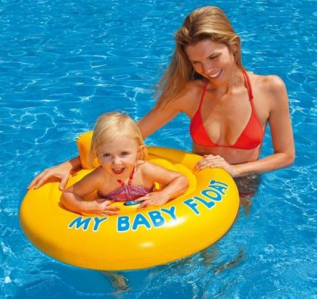 Intex baby drijfband intex 56585eu for Intex zwembad baby