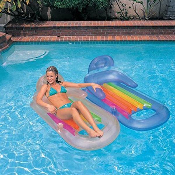 Intex king kool matras intex for Verwarming intex zwembad