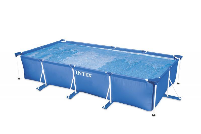 Intex metal frame rechthoekig intex for Intex zwembad verkooppunten