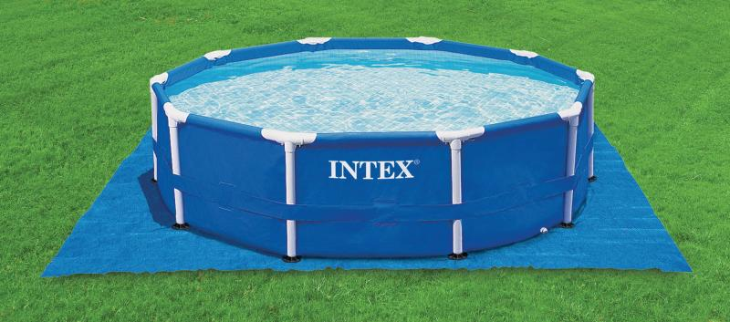 intex metal frame zwembad intex