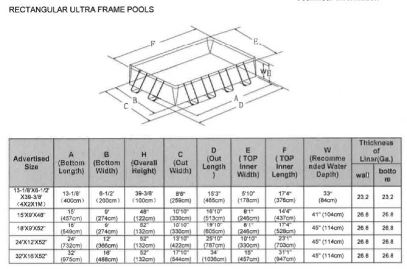 intex ultra frame rechthoekig intex. Black Bedroom Furniture Sets. Home Design Ideas