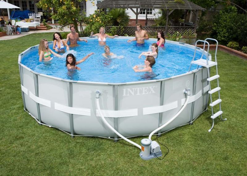Intex ultra frame rond intex zwembad eu