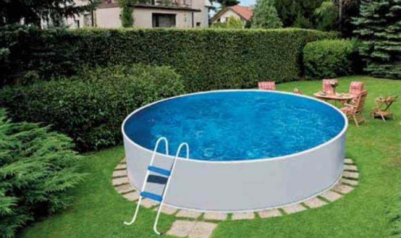 Mountfield Azuro opbouwzwembad rond: 2,4 x 0,9 meter