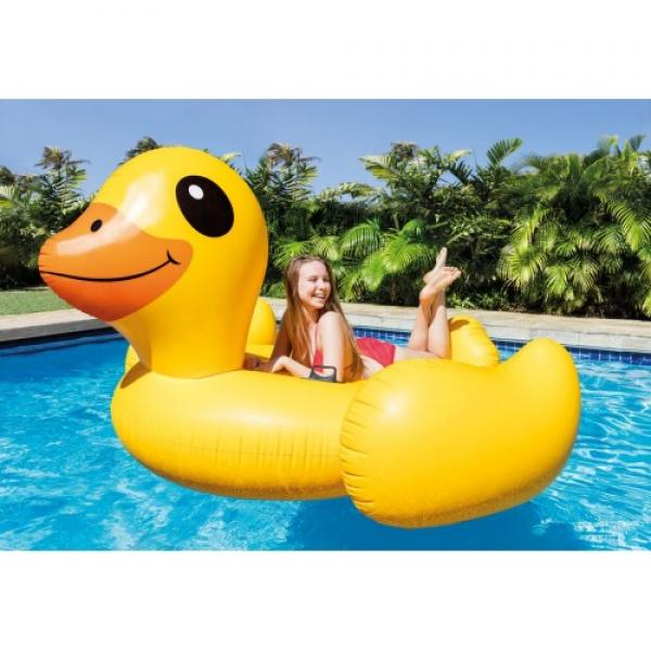 Opblaasbare eend klein intex 57556np for Klein opblaasbaar zwembad