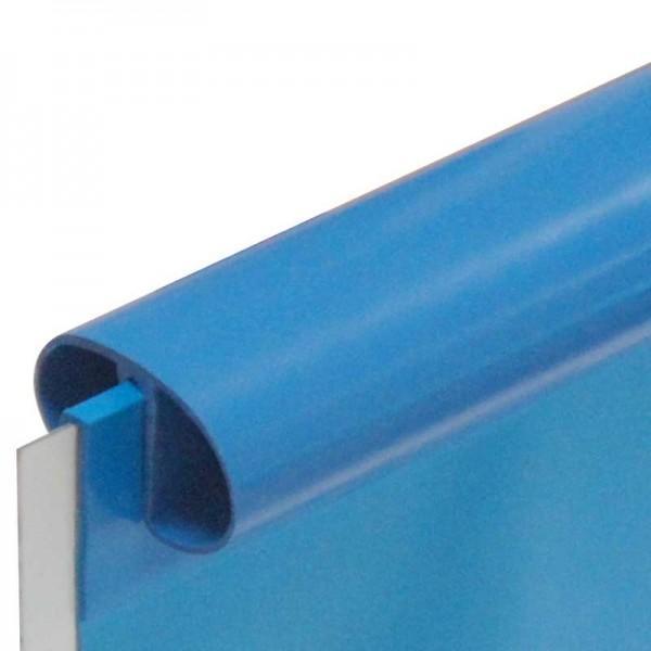 Ovaal linerprofiel voor overlapliner for Zwembad plastic