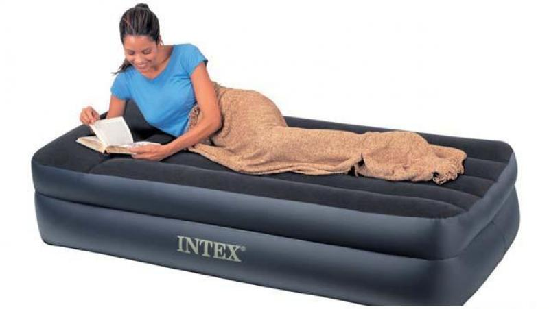 Intex for Zwembad rechthoekig met pomp