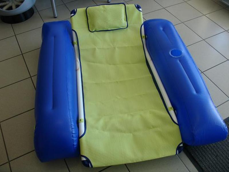 Verstevigde zetel zwembad 57600442 for Klein opblaasbaar zwembad