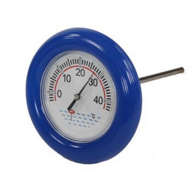 Zwembad temperatuur meten met ronde boeithermometer for Termometro piscina