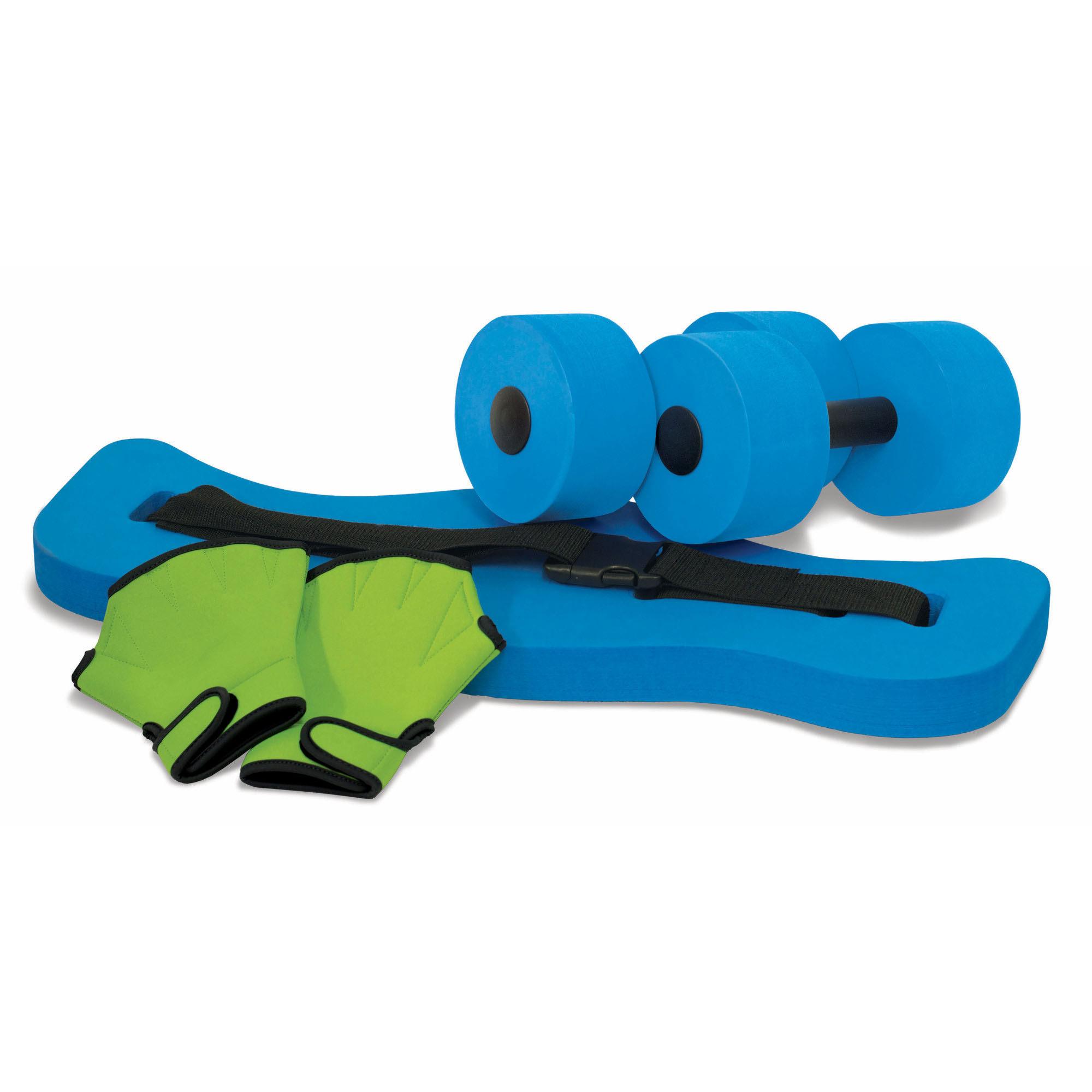 aqua fitness set riem halters handschoenen kokido. Black Bedroom Furniture Sets. Home Design Ideas