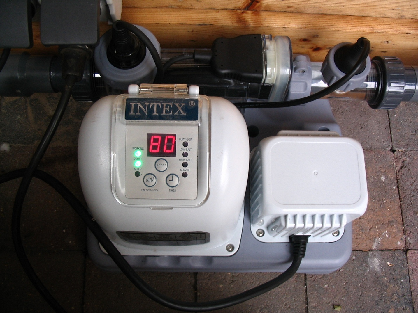 Zoutelectrolyse Voor Intex Zwembaden Krystal Clear Intex