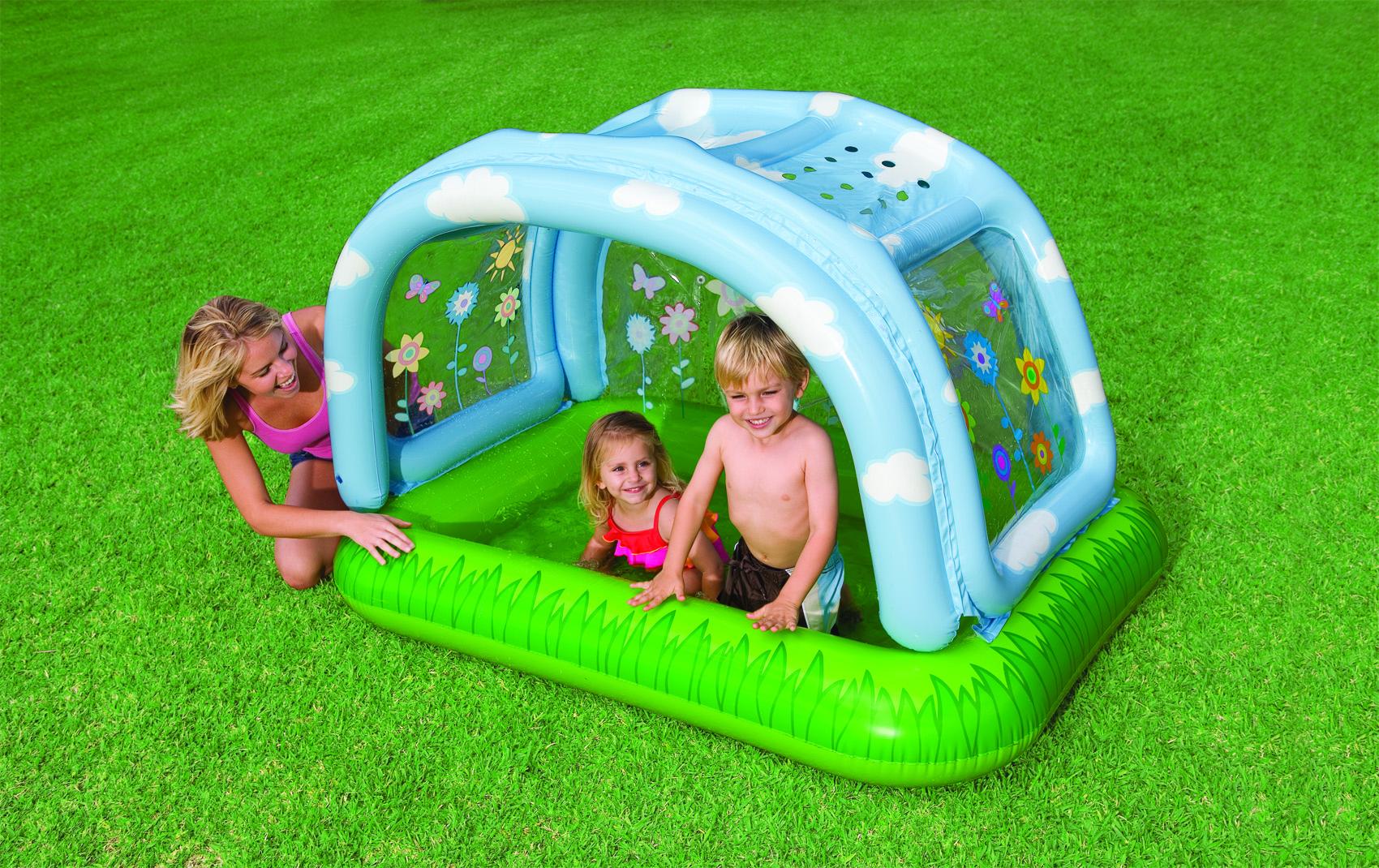 Kinderzwembad van intex shady beach baby pool 57406np for Intex zwembad baby