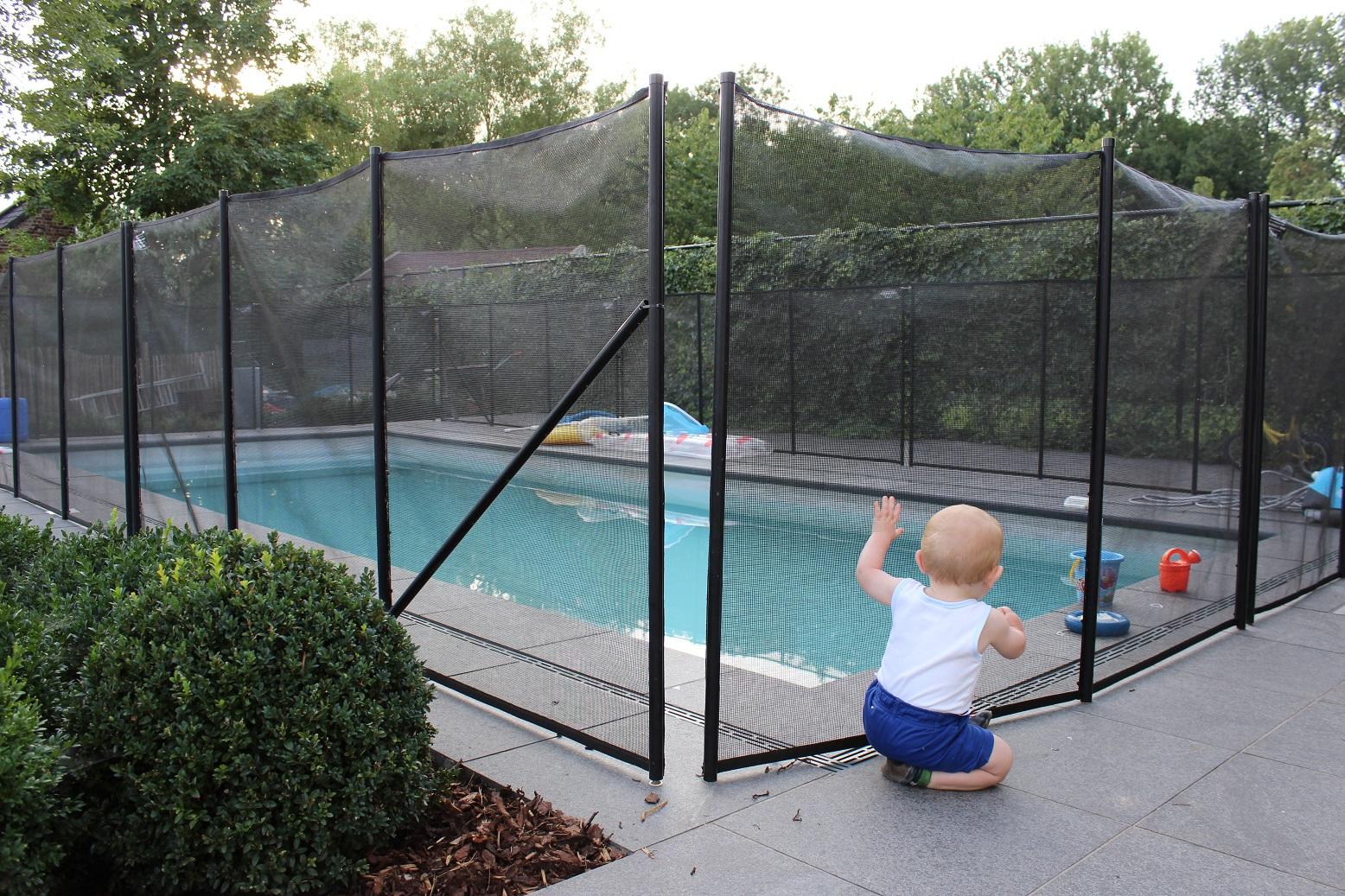 Veiligheidsomheining veilig voor kinderen for Zwembad rond 3 meter intex