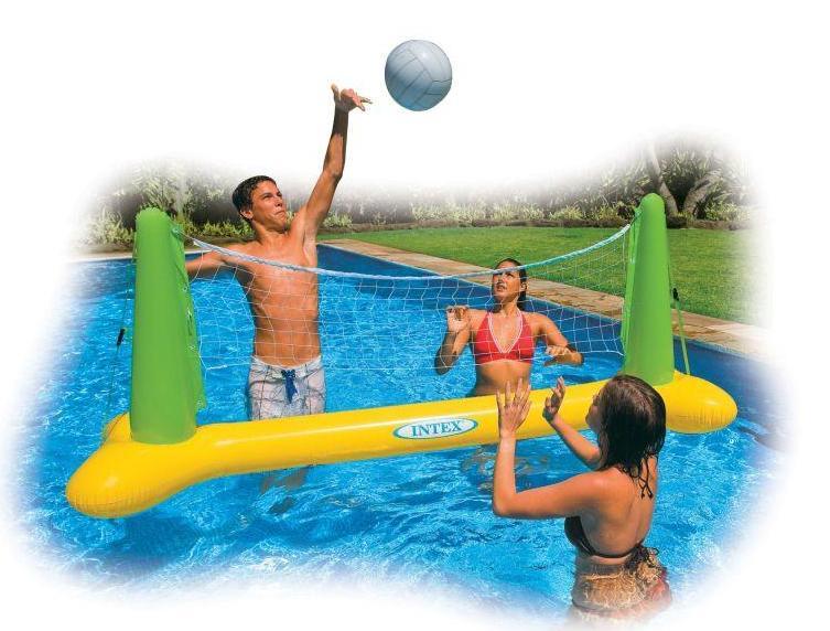 Volleybal spel intex 56508np for Zwembad spel