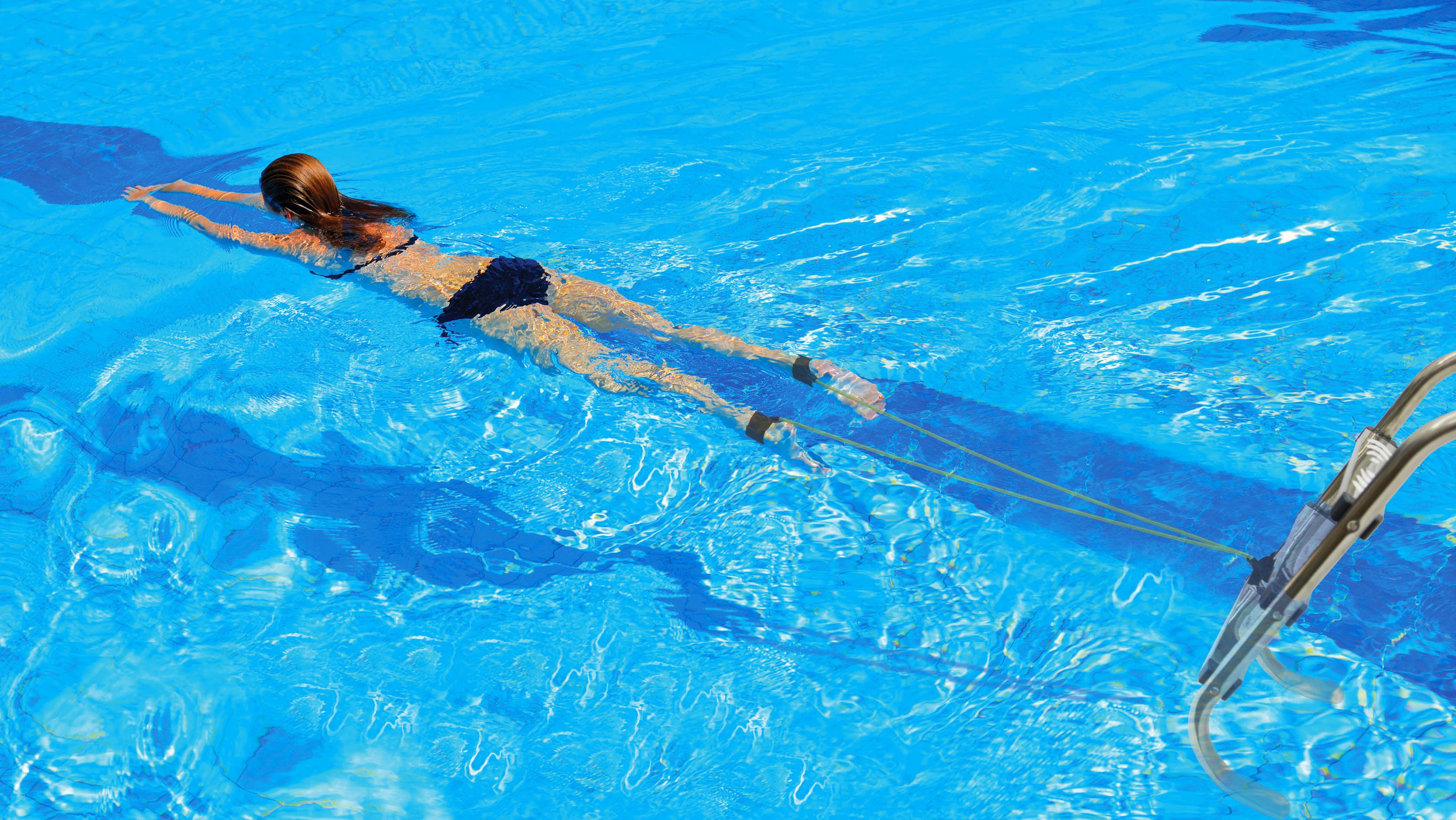 Zwem oefenelastieken kokido k237cbx for Zwembad spel