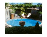 Round pool d= 9,00 m, h= 1,50 m, liner 0,6 mm Blue