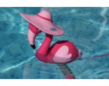 Thermometer roze flamingo