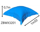 Inflatable winter cover pilow