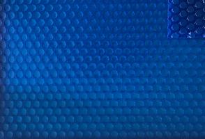 Bubbelzeil Blauw-Blauw